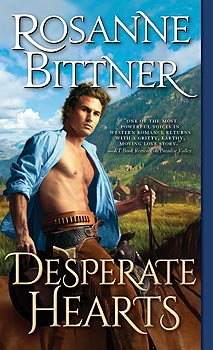 Brand new cover for DESPERATE HEARTS!