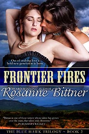 FRONTIER FIRES cover for e-reader version