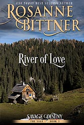 RIVER OF LOVE, 2015 Kindle and POD Edition